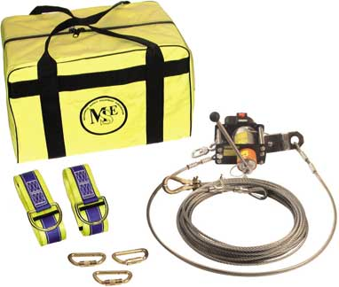 Temporary Horizontal Cable Lifeline System Kit